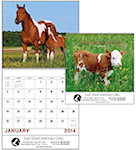 Baby Farm Animals Spiral Wall Calendars
